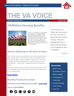 Low VA Rates Newsletter